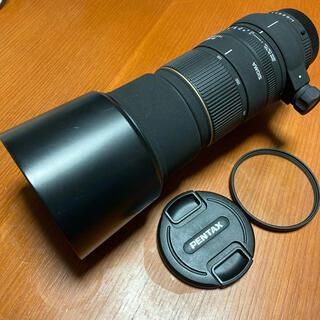 SIGMA - SIGMA APO135-400mm F4.5-5.6DG ペンタックス KAF