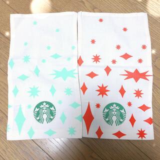 Starbucks Coffee - スターバックス新品ラッピング布袋2枚