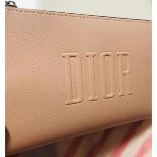 Christian Dior - 新品 ディオール ノベルティ ポーチピンク