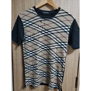 BURBERRY BLACK LABEL - 人気デザイン フルノバチェック Tシャツ