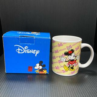 ディズニー(Disney)のディズニーミニー マグカップ 横12cm 高さ9.6cm 直径8cm(グラス/カップ)