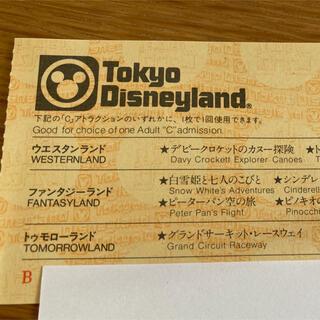 ディズニー(Disney)のディズニーランド ディズニーシー チケット 1枚(遊園地/テーマパーク)