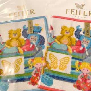 フェイラー(FEILER)の【新品】フェイラーFEILER タオルハンカチ 2枚セットプレゼント袋付(ハンカチ)