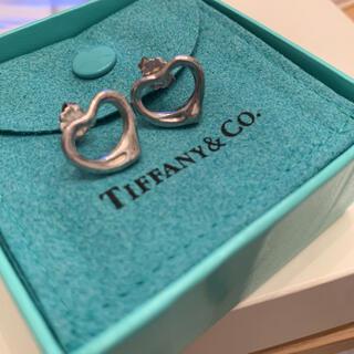Tiffany & Co. - Tiffany & Co. (ティファニー) ピアス オープンハート 箱付き