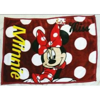 ディズニー(Disney)の新品未使用タグ付き ミニー マイヤーひざ掛け ブランケット ディズニー(キャラクターグッズ)