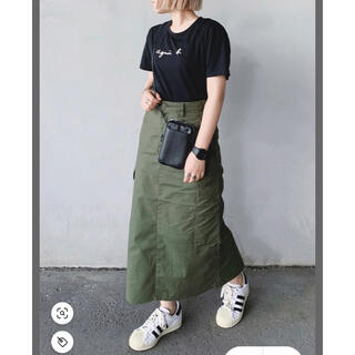 ビームス(BEAMS)のロングスカート BEAMS カーキ(ロングスカート)