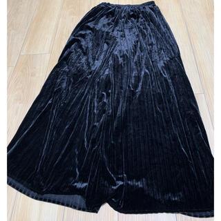 ローリーズファーム(LOWRYS FARM)のベロアプリーツスカート(キュロット)