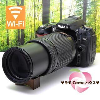 Nikon - ニコン D90一眼レフ★wifiSDでスマホに転送♪1982