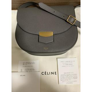 celine - 【美品!購入証明書あり・希少・フィービ時代】グレー セリーヌ トロッター バッグ