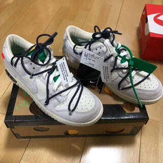 """OFF-WHITE - OFF-WHITE × NIKE DUNK LOW 1 OF 50 """"20"""""""
