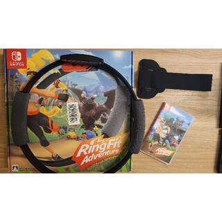 ニンテンドースイッチ(Nintendo Switch)のリングフィットアドベンチャー (家庭用ゲームソフト)