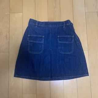 ウィゴー(WEGO)のスカート 台形スカート デニムスカート(ミニスカート)