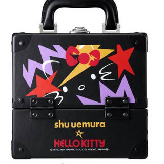 shu uemura - シュウウエムラ キティ ロックザパーティ プレミアム メイクアップ ボックス