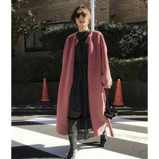 アメリヴィンテージ(Ameri VINTAGE)のAMERI VINTAGE 2way soft boa long coat(ロングコート)