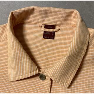 モンベル(mont bell)のモンベル mont-bell ライトオレンジのシャツ ウィックロン L(シャツ/ブラウス(長袖/七分))