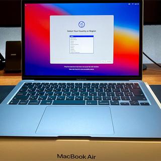 Apple - 【美品】MacBook Air 13インチ Apple M1 SSD 256GB