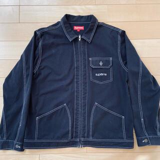 Supreme - 18ss Supreme Contrast Stitch Work Jacket