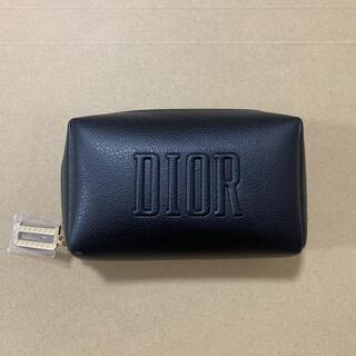 Christian Dior - 1ディオール クリスマス限定 ノベルティ スクエア ポーチ ブラック