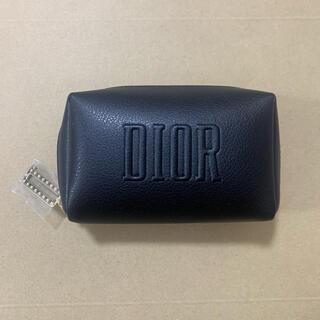 Christian Dior - 3ディオール クリスマス限定 ノベルティ スクエア ポーチ ブラック