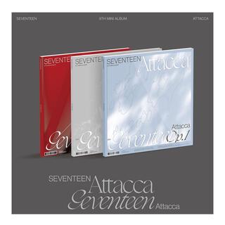 SEVENTEEN - attacca seventeen フォトブック レイヤーカード セット