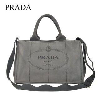 PRADA - プラダ カナパ 2way 中型ショルダーバッグ