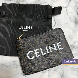 celine - CELINE<新品レシート付き> トリオンフカード&コインケース タン