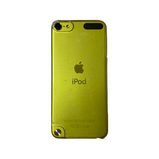 アイポッドタッチ(iPod touch)のiPod touch 第5世代 32GB イエロー本体(ポータブルプレーヤー)