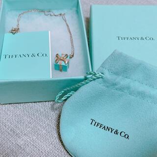 Tiffany & Co. - ティファニー ブルーボックス ネックレス