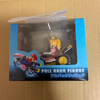 MARIOKART8 マリオカート プルパックフィギュア ピーチ姫 ゲーム(ゲームキャラクター)