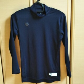 DESCENTE - DESCENTE アンダーシャツ デサント 150cmネイビー紺