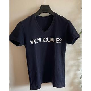ウノピゥウノウグァーレトレ(1piu1uguale3)の1piu1uguale3 ロゴTシャツ AKM wjk junhashimoto(Tシャツ/カットソー(半袖/袖なし))