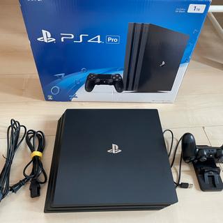 ソニー(SONY)の2万円相当のcrucial 2TB SSD 装換済! 中古PS4 pro(家庭用ゲーム機本体)