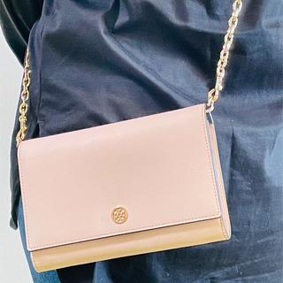 Tory Burch - 安価・人気トリーバーチお財布型ミニショルダーバック ☆カラーベビーピンク☆