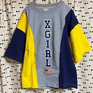 エックスガール(X-girl)の数回のみ 厚手 Tシャツ(Tシャツ(半袖/袖なし))