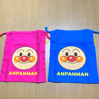 アンパンマン - アンパンマン巾着