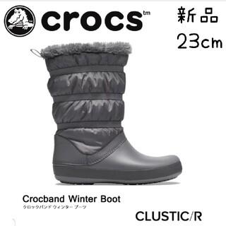 crocs - 新品 crocs クロックス ブーツ レディース 23 スノーブーツ  ブーツ