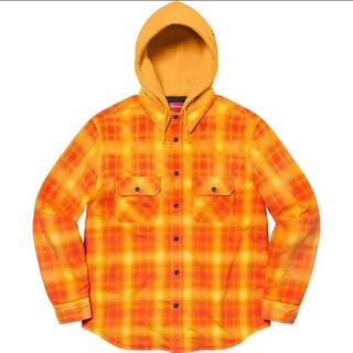 Supreme - Supreme Hooded Flannel Zip Up Shirt