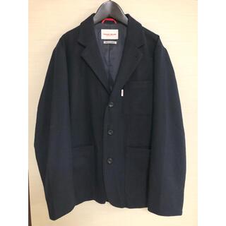 ダントン(DANTON)の美品バンソンミレイユウールジャケットM紺 ユニバーサルオーバーオールニコアンド(テーラードジャケット)