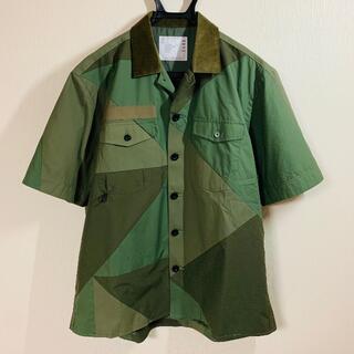 sacai - 最終値下げ 新品 未使用 21SS sacai サカイ ソリッドミックス シャツ