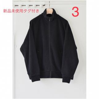 COMOLI - 21AW 新品 COMOLI ウールフリース ジップアップジャケット サイズ:3