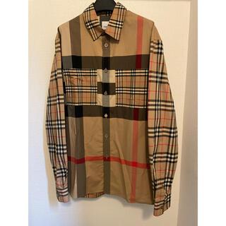 BURBERRY - 正規 試着のみ バーバリー ヴィンテージチェックシャツ M