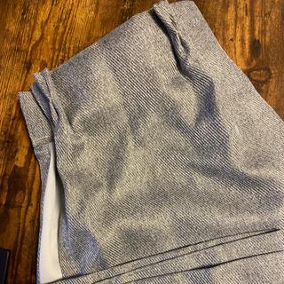 ムジルシリョウヒン(MUJI (無印良品))の無印良品 カーテン グレー 2枚組(カーテン)