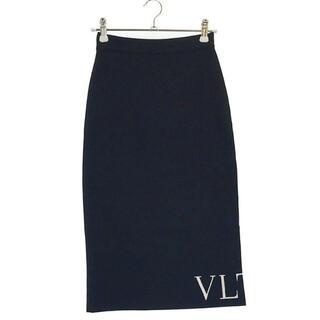 ヴァレンティノ(VALENTINO)のヴァレンティノタイトロゴスカートXS(ロングスカート)