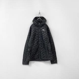 THE NORTH FACE - ノースフェイス サーモボール 中綿 パーカー キルティング ジャケット ブラック