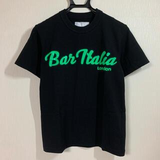 sacai - 最終値下げ 新品 未使用 19AW SACAI BAR ITALIA Tシャツ