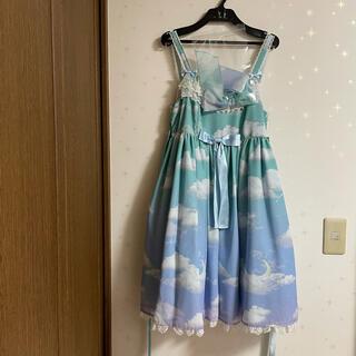 Angelic Pretty - Misty Sky Brilliant Color ジャンパースカート セット