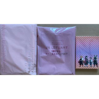 JILLSTUART - ゼクシィ 6月号+9月号+MORE 8月号 付録豪華3点セット