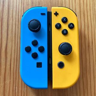 Nintendo Switch - Switch ジョイコン ネオンブルー×ネオンオレンジ ニンテンドー