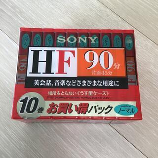 SONY - 【新品未開封】SONY カセットテープ 10C-90HFA