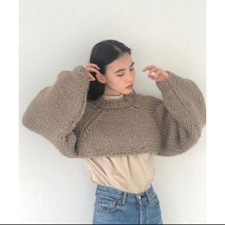 TODAYFUL - todayful lowgauge sleeve knit